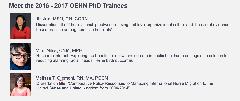 occupational and environmental health training grant nyu rory  contact