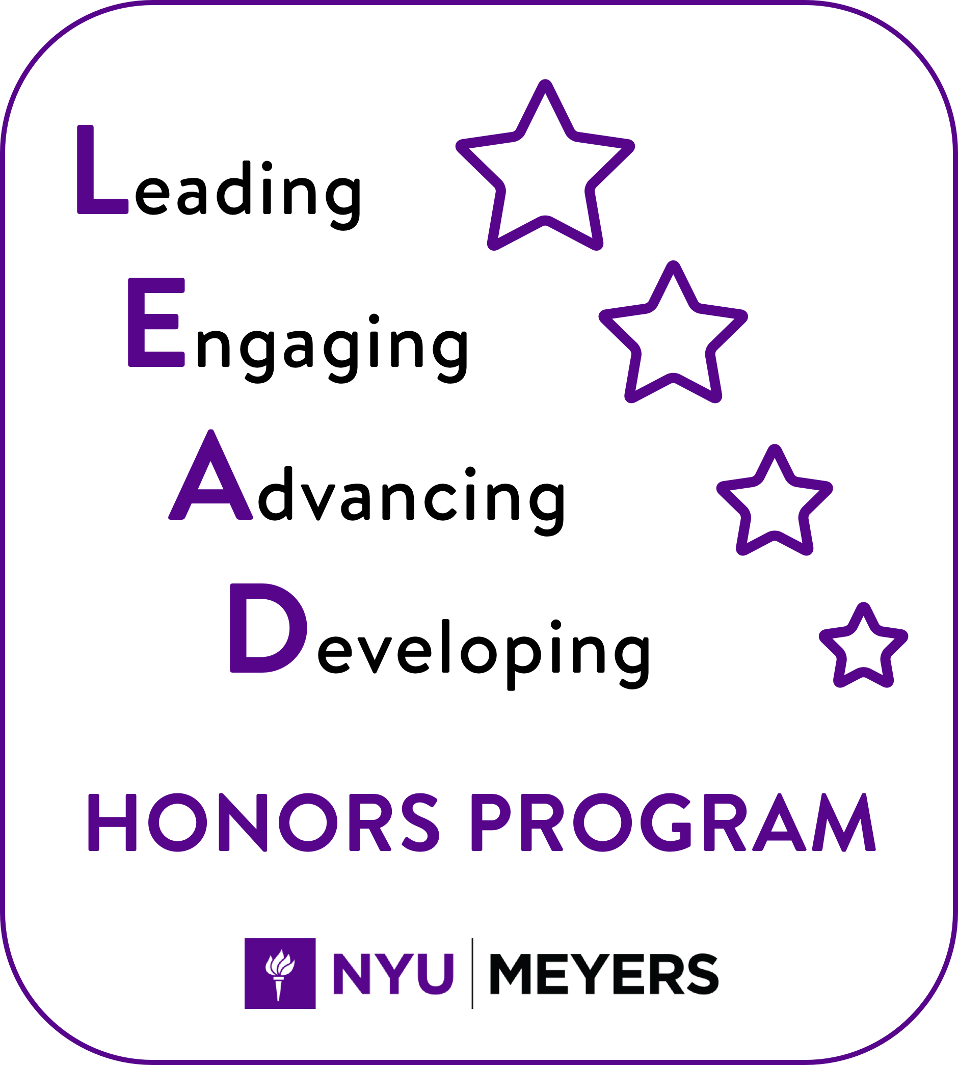 LEAD Honors Program Logo