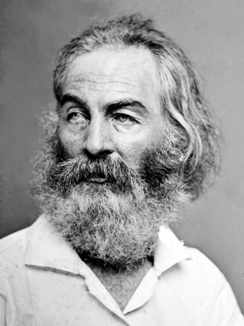 "Walter ""Walt"" Whitman headshot"