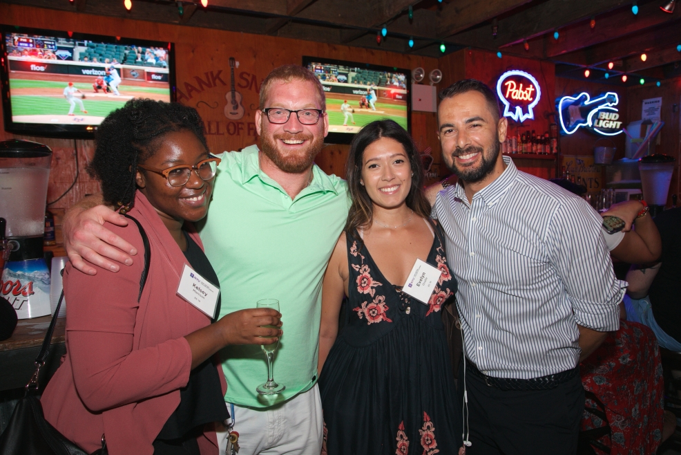 Alumni at the 2018 Summer Social